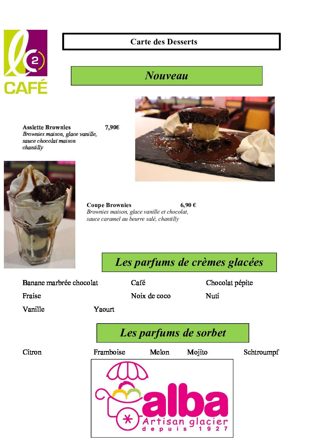 10 - carte des desserts