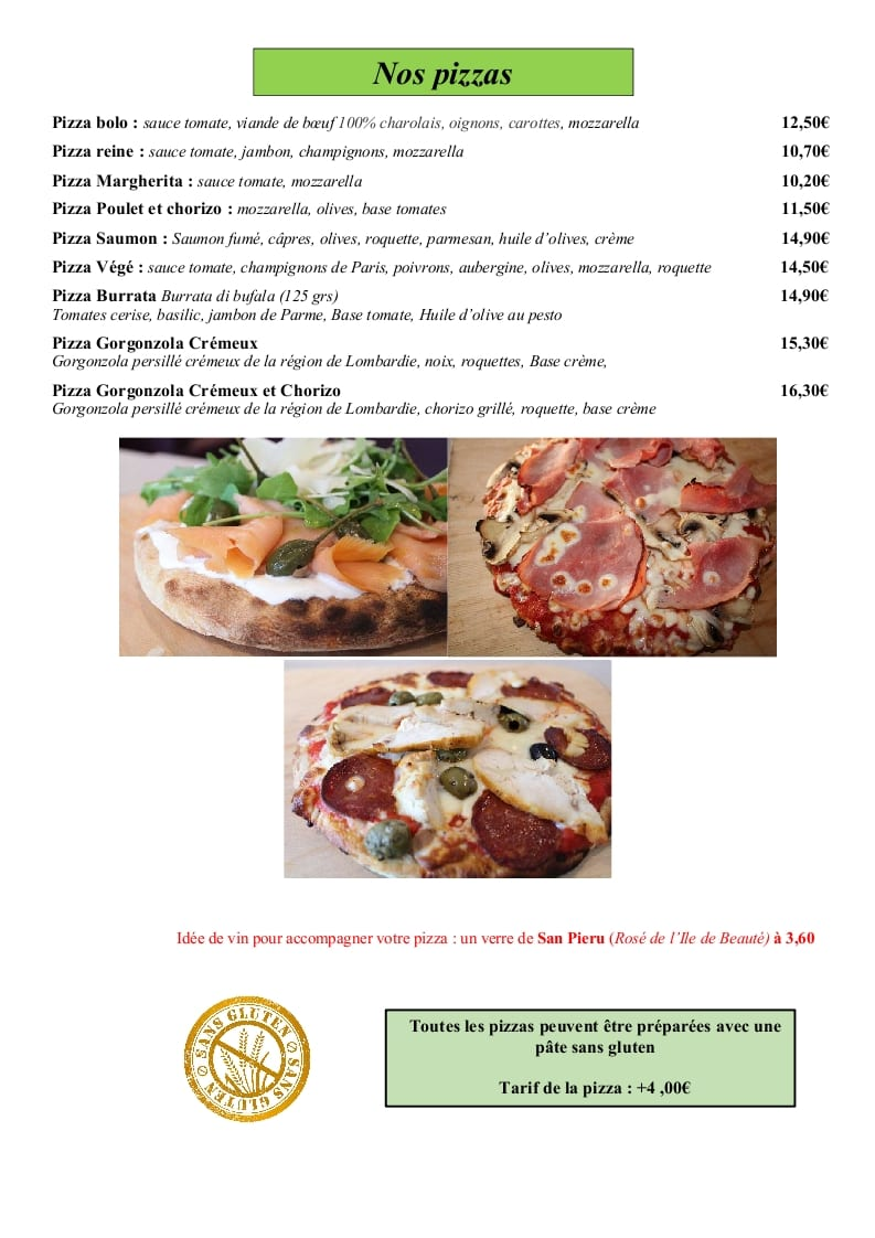 page 13 - pizzas