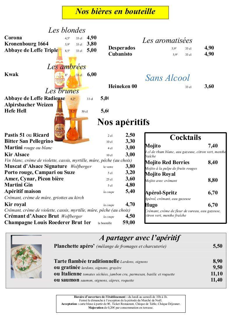 page 3 - Bières Bouteilles
